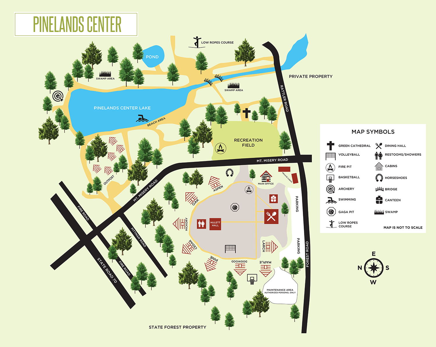 pinelands map